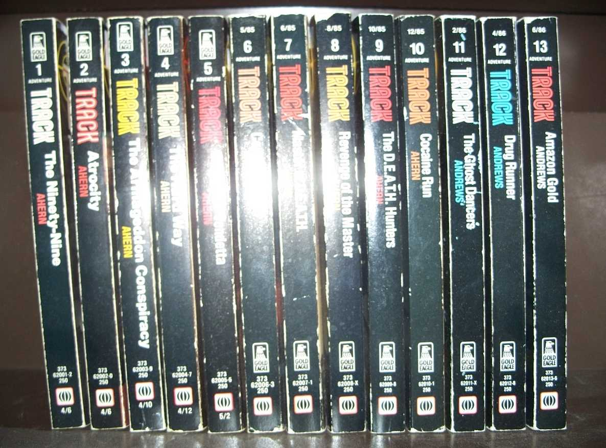 Track Set of 13 Volumes, Ahern, Jerry and Andrews, Patrick