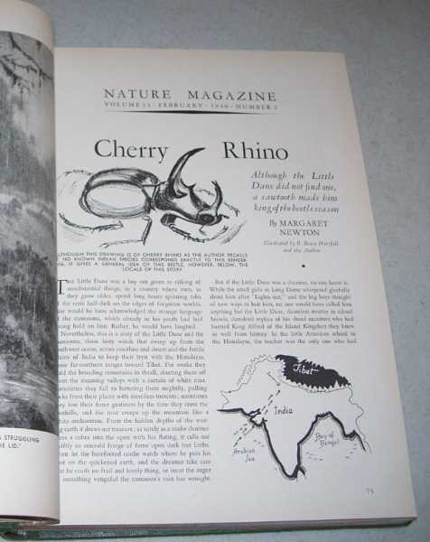 Nature Magazine Volume 33, January-December 1940 Bound in One Volume, N/A