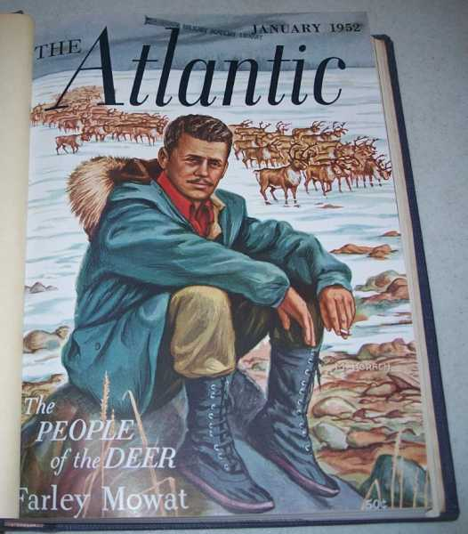 The Atlantic Monthly Magazine Volume 189, January-June 1952, Bound in One Volume, Various