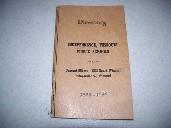 Directory-Independence Missouri Public Schools 1968-1969, N/A