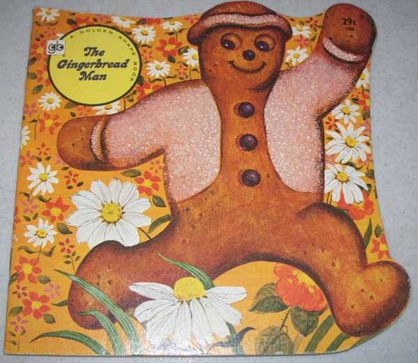 The Gingerbread Man (A Golden Shape Book), Hauge, Carl and Mary