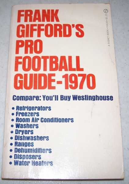 Frank Gifford's Pro Football Guide 1970, Gifford, Frank