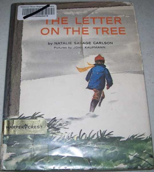 The Letter on the Tree, Carlson, Natalie Savage