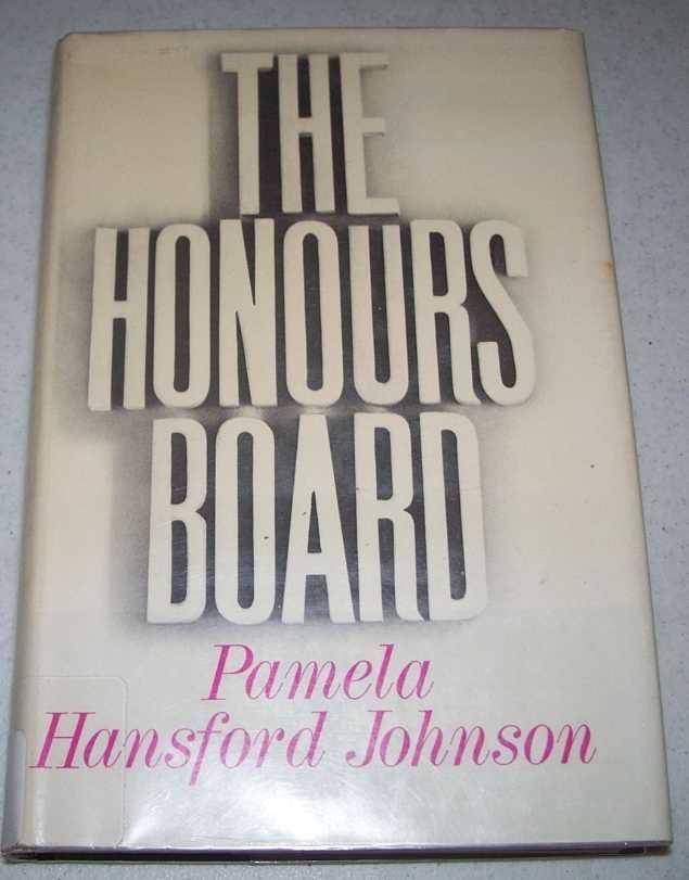The Honours Board, Johnson, Pamela Hansford
