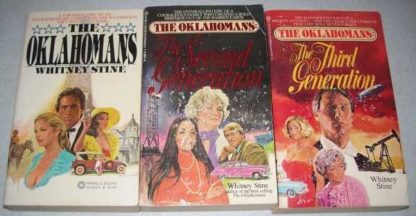 The Oklahomans (3 Books): The Oklahomans; The Second Generation; The Third Generation, Stine, Whitney