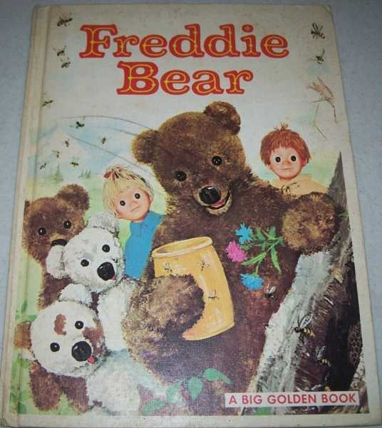 Freddie Bear: A Big Golden Book, Laydu, Claude