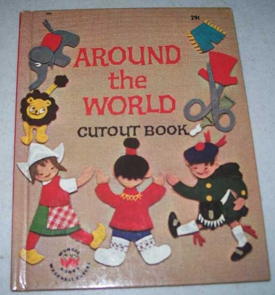 Around the World Cutout Book (Wonder Books 826), Galst, Annie