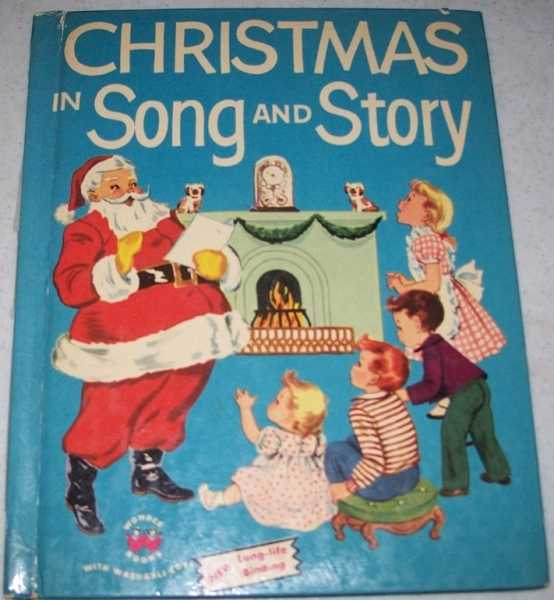 Christmas in Song and Story (Wonder Books 586), Berg, Jean Horton