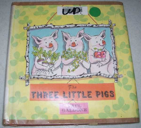 The Three Little Pigs, Galdone, Paul