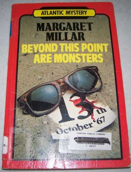 Beyond This Point Are Monsters: Atlantic Large Print, Millar, Margaret