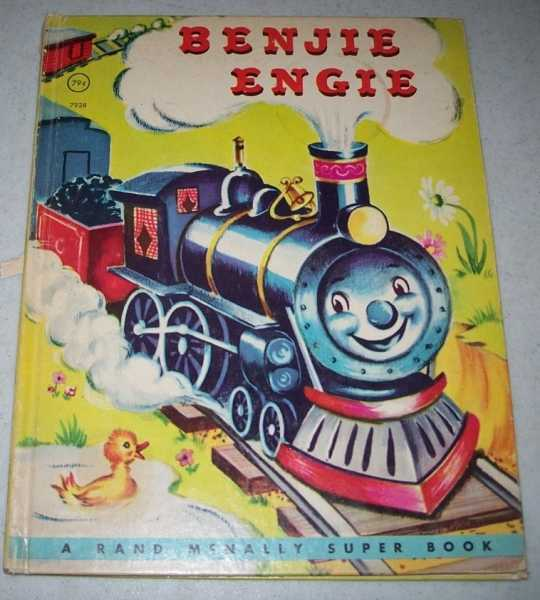 Benjie Engine: A Rand McNally Super Book, Devine, Louise Lawrence