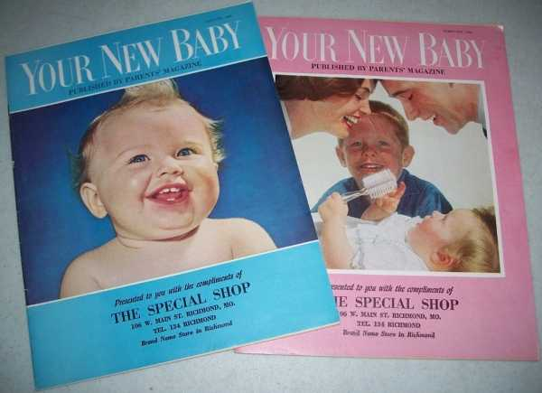 Your New Baby (2 Magazines): January 1960 and February 1960, N/A