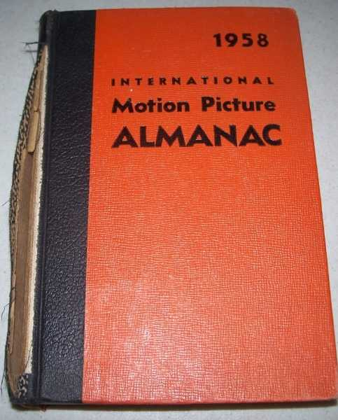 1958 International Motion Picture Almanac, Aaronson, Charles S. (ed.)