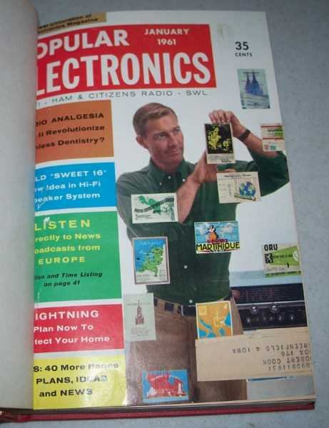 Popular Electronics Magazine Volume 14, January-June 1961 Bound in One Volume, N/A