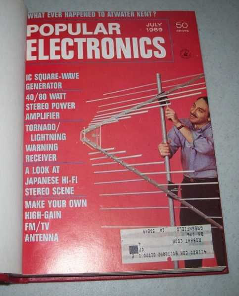 Popular Electronics Magazine Volume 31, July-December 1969 Bound in One Volume, N/A