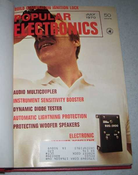 Popular Electronics Magazine Volume 33, July-December 1970 Bound in One Volume, N/A