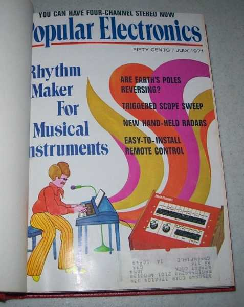 Popular Electronics Magazine Volume 35, July-December 1971 Bound in One Volume, N/A
