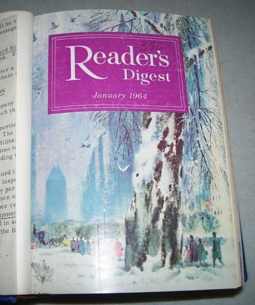 The Reader's Digest Volume 84, January-June 1964 Bound in One Volume, N/A