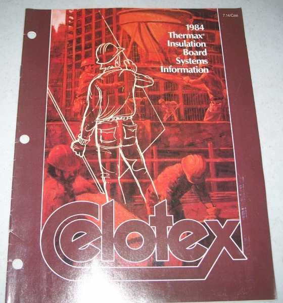 1984 Thermax Insulation Board Systems Information (Celotex), N/A