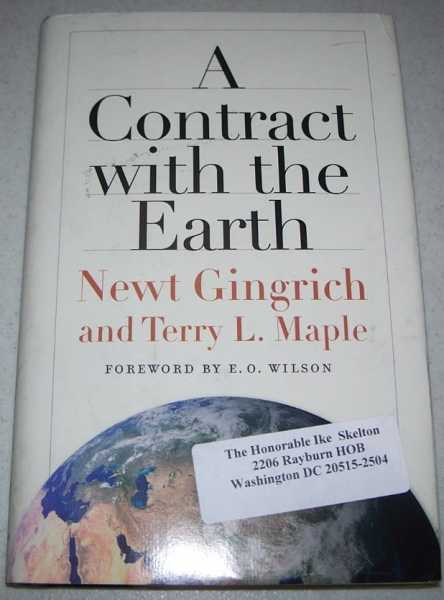 A Contract with the Earth, Gingrich, Newt and Maple, Terry L.