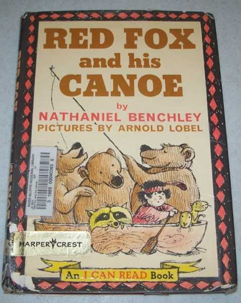 Red Fox and His Canoe: An I Can Read Book, Benchley, Nathaniel