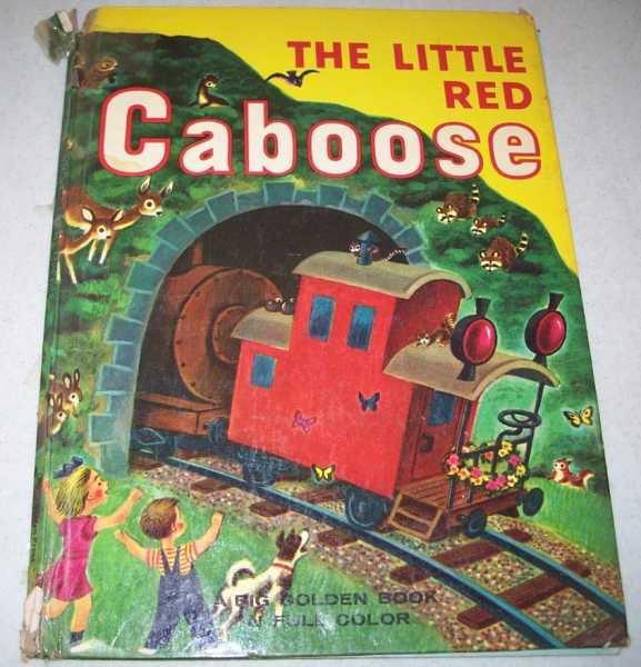The Little Red Caboose (Big Golden Book), Potter, Marian