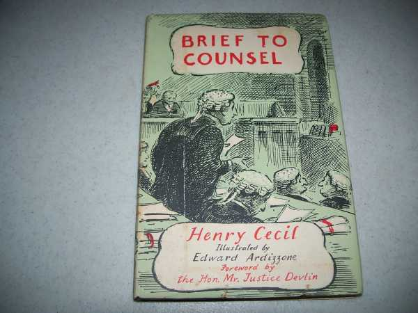 Brief to Counsel, Cecil, Henry
