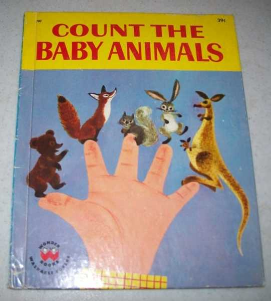 Count the Baby Animals (Wonder Books 702), Walters, Marguerite