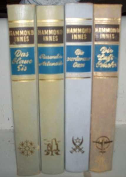 4 German Books: Das Blaue Eis; Die Luftbrucke; Die Verlorene Oase; Rsaender Atlantik, Innes, Hammond