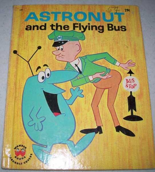 Astronut and the Flying Bus (Wonder Books 853), Lenhart, Ellen
