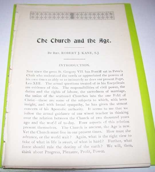 The Church and the Age, Kane, Robert