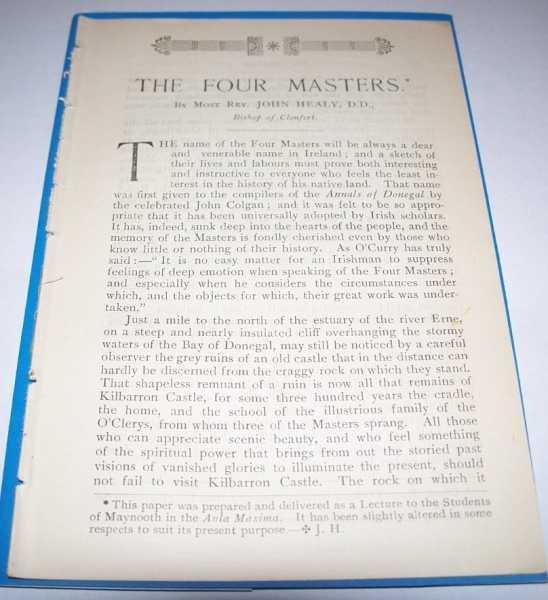 The Four Masters, Healy, John