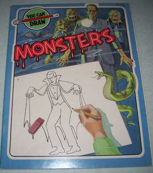 You Can Draw Monsters, Henwood, Debby