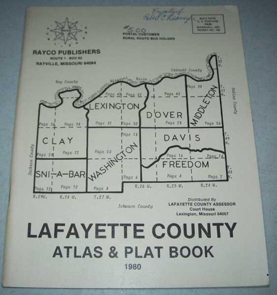 Lafayette County Atlas and Plat Book 1980, N/A