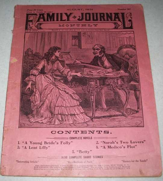Family Journal Monthly August 1931, N/A