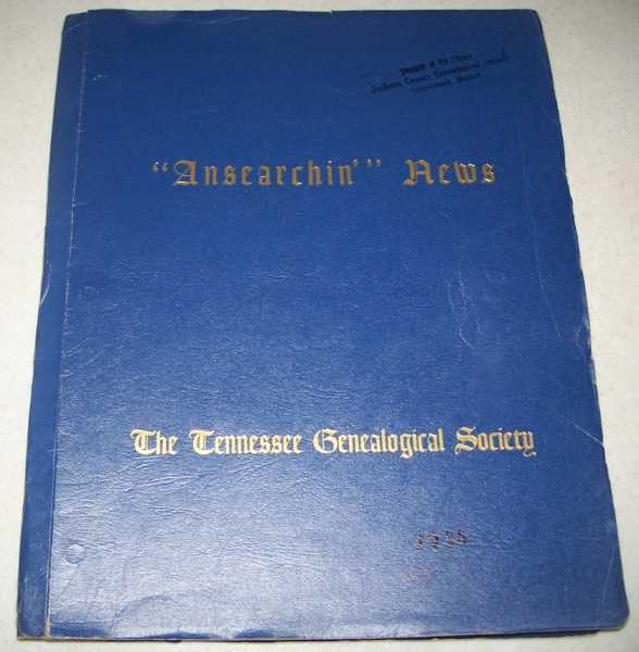 Ansearchin' News: 4 issues from 1980 bound together (The Tennessee Genealogical Society), N/A