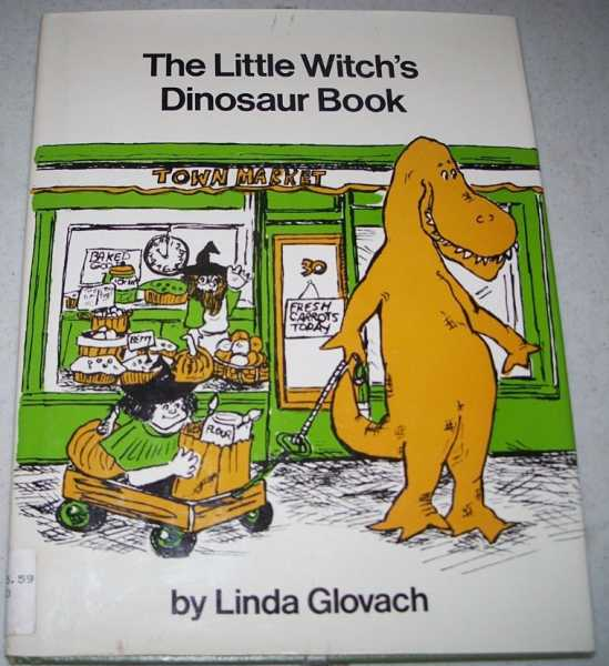 The Little Witch's Dinosaur Book, Glovach, Linda