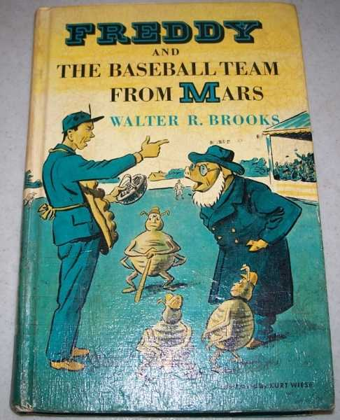 Freddy and the Baseball Team from Mars, Brooks, Walter R.