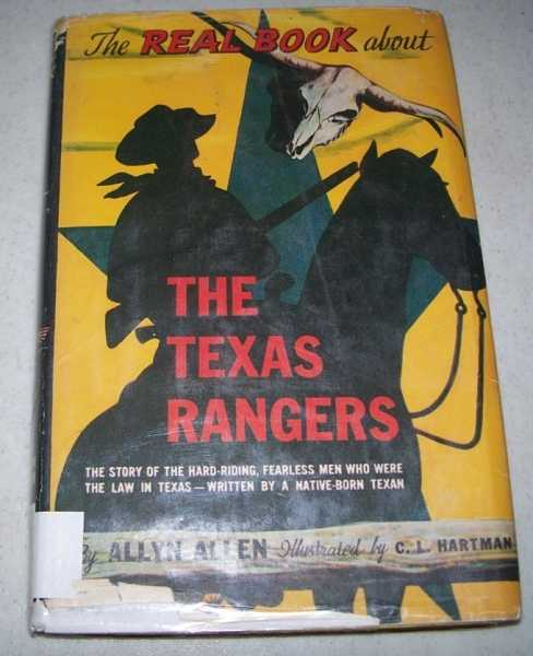 The Real Book About Texas Rangers, Allen, Allyn