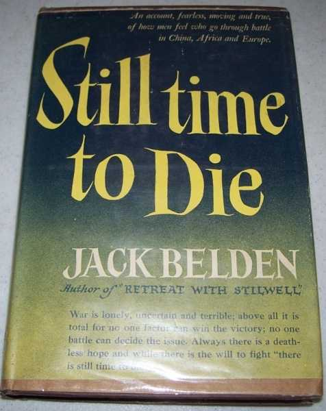 Still Time to Die, Belden, Jack
