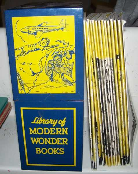 Library of Modern Wonder Books (13 Books in a Metal Box), Various