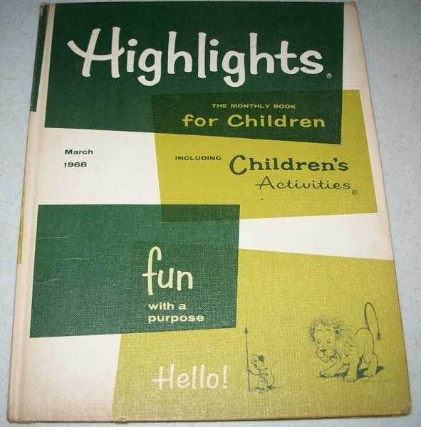 Highlights for Children Magazine, Volume 23, Number 4, March 1968, N/A