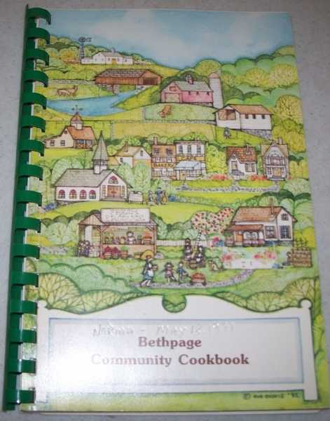 Bethpage Community Cookbook, Various