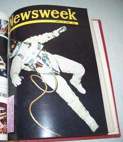 Newsweek Magazine Volume 65, April-June 1965 Bound in One Volume, N/A