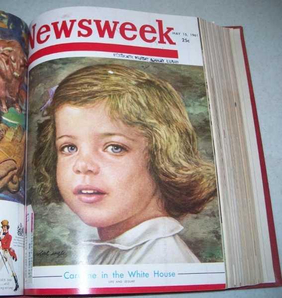 Newsweek Magazine Volume 57, April-June 1961 Bound in One Volume, N/A