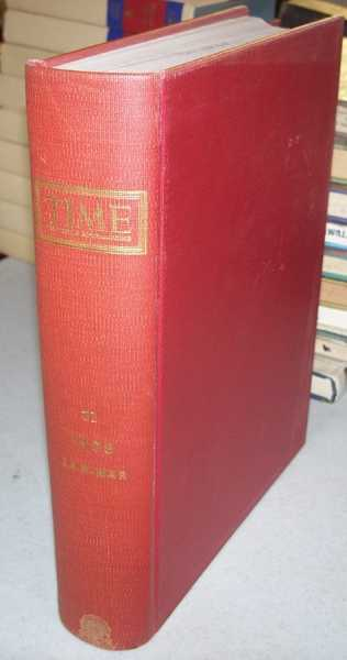 Time (The Weekly News Magazine) Volume 71, January-March 1958 Bound in One Volume, N/A
