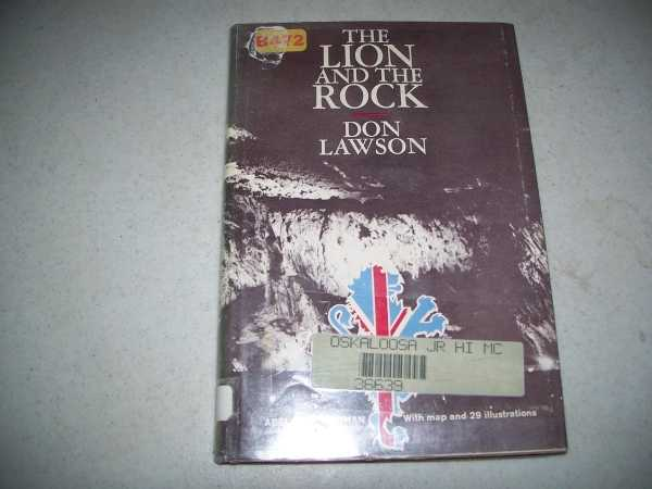 The Lion and the Rock: The Story of the Rock of Gibraltar, Lawson, Don