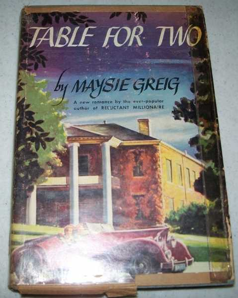 Table for Two, Greig, Maysie