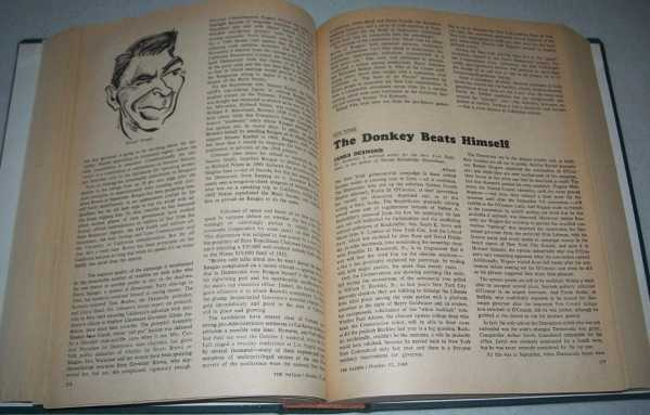 The Nation (America's Leading Liberal Weekly Newspaper) Volume 203, July-December 1966 Bound in One Volume, N/A