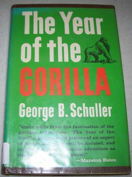 The Year of the Gorilla, Schaller, George B.
